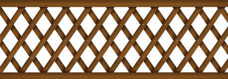 A wooden barricade Royalty Free Stock Photo