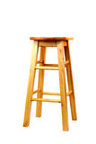 Wooden barstool Stock Photography