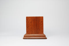 Wooden base Stock Photography