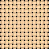 Wooden basked weave. Illustration of a wooden basked weave texture stock illustration