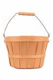 Wooden basket Stock Images