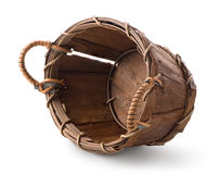 Wooden basket Royalty Free Stock Image