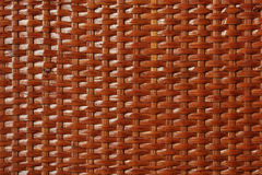 Wooden basket lacquered texture Royalty Free Stock Images