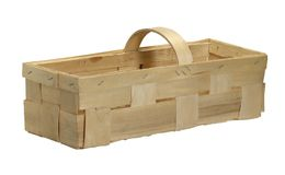 Wooden basket Stock Photography
