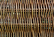 Wooden basket weave pattern for texture background. Stock Images