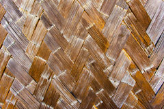 Wooden Basketweave Pattern Stock Images