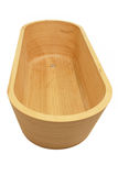Wooden bathtup Royalty Free Stock Photography