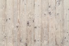 Wooden and sandy boardwalk Stock Photos