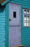 Wooden Beach Hut Stock Photo