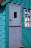 Wooden Beach Hut Stock Photo