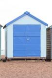 A wooden beach hut Stock Image