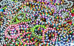 Wooden Bead Bracelets Royalty Free Stock Image