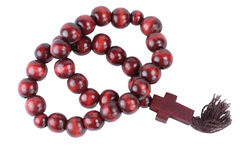 Wooden beads Stock Photos