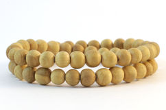 Wooden beads Stock Photos