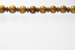 Wooden beads Necklace Royalty Free Stock Photo