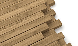 Wooden beam Royalty Free Stock Image