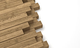 Wooden beam Stock Images