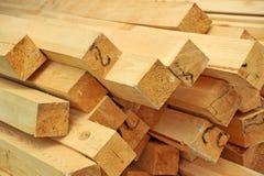 Wooden beam Royalty Free Stock Photos