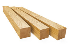 Wooden beams Stock Photos
