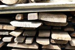 Wooden beams. Stock Photo