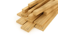 Wooden beams and planks Stock Photography