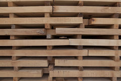 Wooden beams Stock Photography