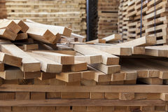Wooden beams Royalty Free Stock Images