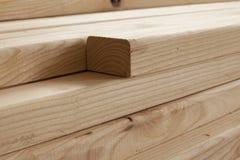 Wooden beams Stock Photo
