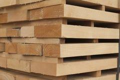 Wooden beams Royalty Free Stock Photo