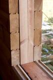Wooden beams Stock Photos