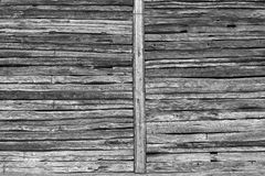Wooden beams wall Royalty Free Stock Photography