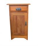 Wooden Bedside Cabinet Stock Image