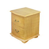 Wooden bedside table Royalty Free Stock Photos