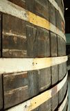 Wooden Beer Barrel outer. The outside of a Wooden Beer Barrel Stock Photo