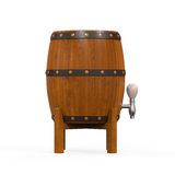 Wooden Beer Cask Royalty Free Stock Photos