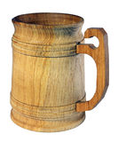 Wooden beer mug, kvass Stock Images