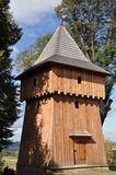 Wooden belfry Stock Photo