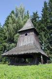 The wooden belfry from Liptov region Stock Image