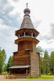 Wooden belfry Royalty Free Stock Images