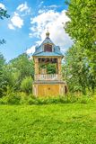 Wooden bell tower Stock Image