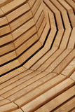 Wooden Bench. Close up of wooden bench Royalty Free Stock Photography