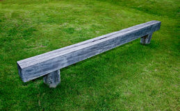 The Wooden bench Royalty Free Stock Image