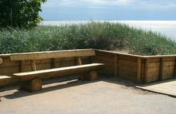 Wooden bench Royalty Free Stock Images