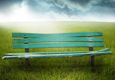 Free Wooden Bench Stock Photography - 7510122