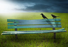 Free Wooden Bench Stock Photography - 7510622