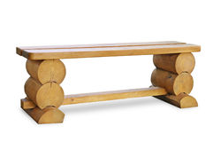 Wooden bench Stock Photos