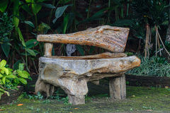 Wooden bench, object Royalty Free Stock Photography