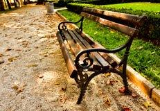 Wooden bench Stock Photos