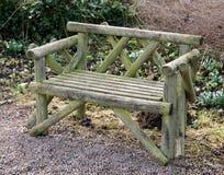 Wooden Bench. Stock Photos