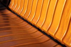 Wooden bench texture Royalty Free Stock Image